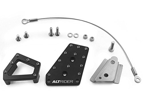 AltRider R113-2-2532-V2 Black Dual Control Brake System for Bmw R 1200 GS Water Cooled
