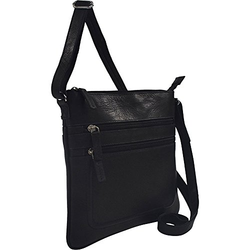 r-r-collections-soft-drum-dyed-leather-square-crossbody-bag-black
