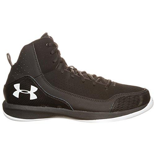 Under Armour Jet - Zapatillas de Baloncesto de material sintético Hombre - negro y blanco
