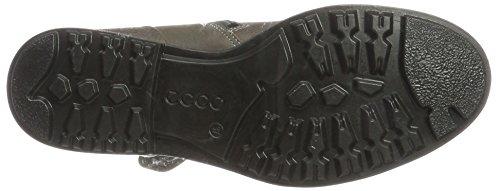 Ecco Damen Zoe Biker Boots Grau (acciaio / Grigio Caldo)