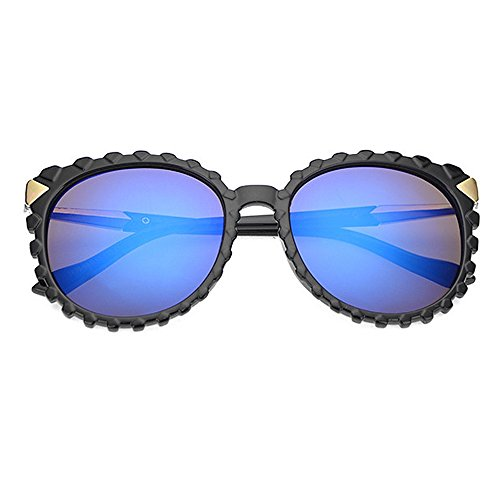 Lente Hombres Clásicas Unisex los Yxsd UV400 SunglassesMAN Protectoras Blue Color Estilo del de Black de Sol la Señoras Negra de Sombras Gafas 0xgwU