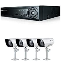 I8G-Samsung 500GB H.264 4 Channel DVR with 4 camera