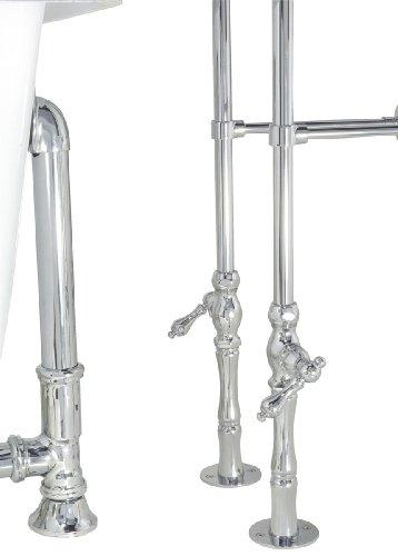 Elizabethan Classics Bathtub Chrome Faucet Chrome Bathtub