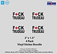 "4- Pack 2"" x 1.5"" F Trudeau St"