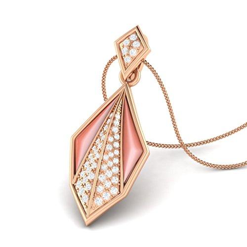 Exótico Shell Love 14KT Gold Diamond Shell (Exotica Pendant)