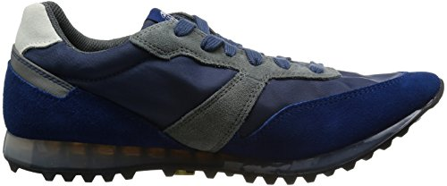 Diesel- Man Choplow Mode Sneaker Mörkblå / Nautiska Blå / Castle