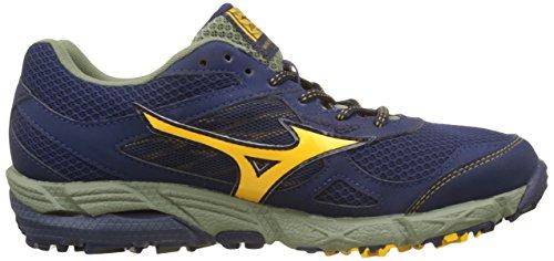 Peacoat Kien TX Running Mizuno de Homme Multicolore Deeplichengreen Wave Chaussures G Goldfusion wz5xxTCq