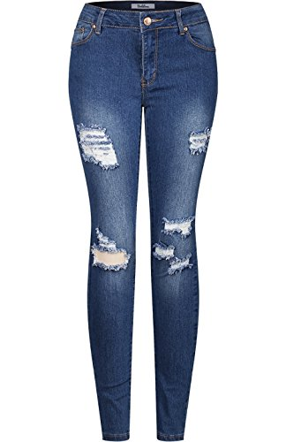 2LUV - Vaqueros - para mujer Denim Medium3
