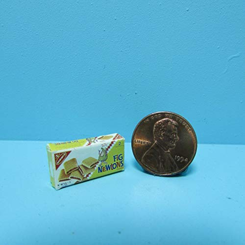 Dollhouse & Miniature Replica Box of Nabisco Fig Newton for sale  Delivered anywhere in USA