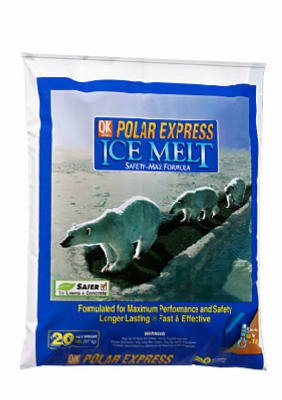 Milazzo Melter Ice (Polar Express Ice Melter Bag Works Effectively Down To -15 Degrees 20 Lbs.)