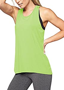 Mippo Womens Cross Back Yoga Shirt Activewear Workout Clothes Racerback Tank Top