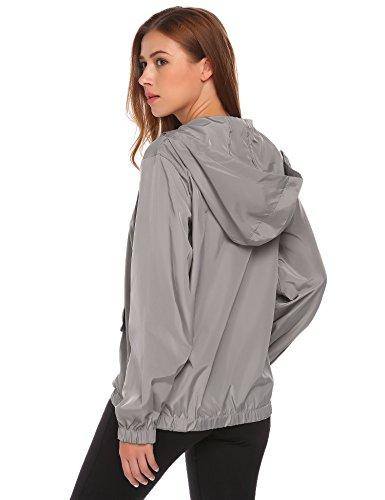 SummerRio Women's Long Sleeve Hoodies Pullover Button Patchwork Sweatshirt Jacket by SummerRio (Image #3)
