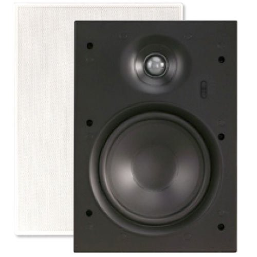 Channel Vision 6.5 In. Soprano ARIA In-Wall Frameless Speaker (Pair) (IW615) ()