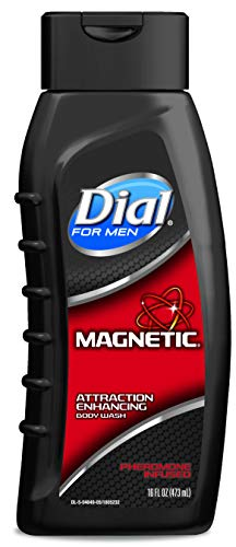 Dial for Men Body Wash, Magnetic Pheromone Infused Attraction Enhancing Formula, 21 Fluid Ounces (Pack of 6)
