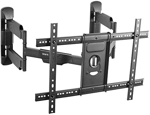 VIVO Corner TV Wall Mount for 37 to 70 inch LCD LED Plasma Flat Screens, Full Motion Articulating Bracket, VESA up to 600×400 MOUNT-CR70C