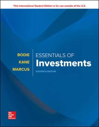 ISE Essentials of Investments por Zvi Bodie,Alex Kane,Alan Marcus