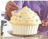 Jumbo Big silicone cupcake molds set