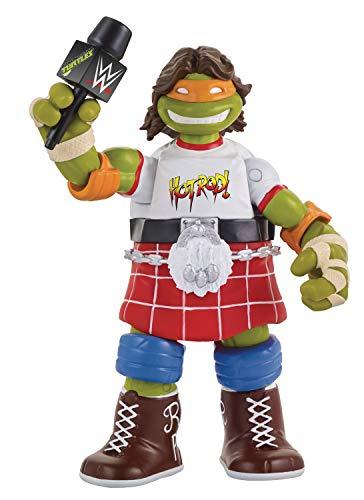 Teenage Mutant Ninja Turtles Ninja Super Stars: Michelangelo As Rowdy Roddy Piper Action Figure -