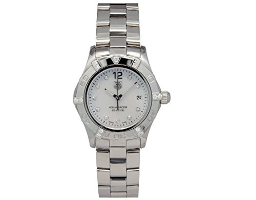 Tag Heuer Aquaracer quartz womens Watch WAF141G (Certified Pre-owned)