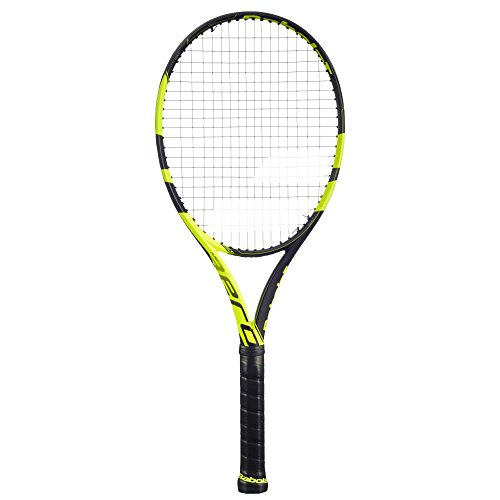 "Babolat Pure Aero Yellow/Black Tennis Racquet, 4 1/4"", used for sale  Delivered anywhere in USA"