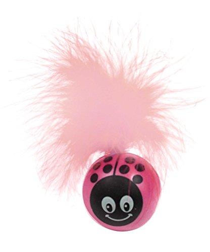 (Petsport Kitty Freak Ladybug Cat Toy, Pink, 3-Pack)