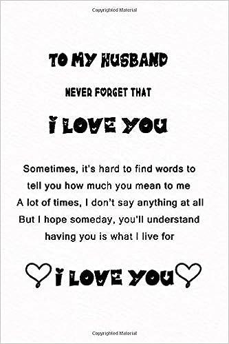 Never loved husband me my I Never