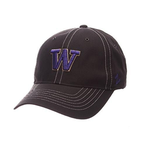 (Zephyr NCAA Washington Huskies Adult Men's Sprint Performance Hat, Adjustable Size,)
