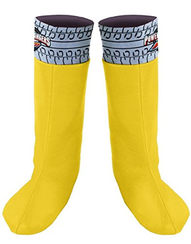 Yellow Ranger Boot Covers - Child Std.