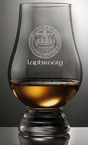 LAPHROAIG ISLAY CREST GLENCAIRN SCOTCH WHISKY TASTING GLASS