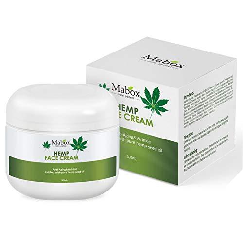 Skin Care Cream,ColorfulLaVie 30ml Hemp Oil Essence Face Cream Anti-aging Moisturizer Nourishing Collagen Essence