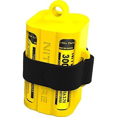 Nitecore NBM40J Chargeur Multifonction Portable Mixte Adulte, Jaune