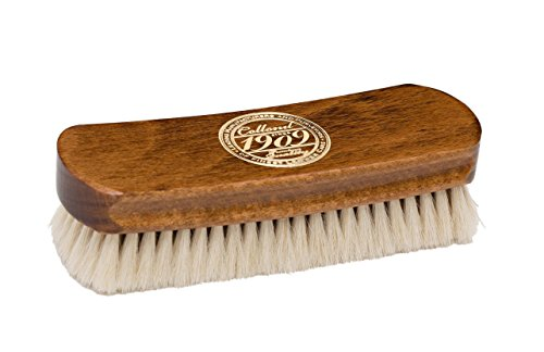 Collonil Goat Hair Leather Shine Brush 6'' For High Gloss Shine On Leather Shoes Handbags Clothes by Collonil (Image #3)
