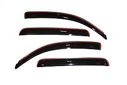 Auto Ventshade 194056 In-Channel Ventvisor Window Deflector, 4 Piece