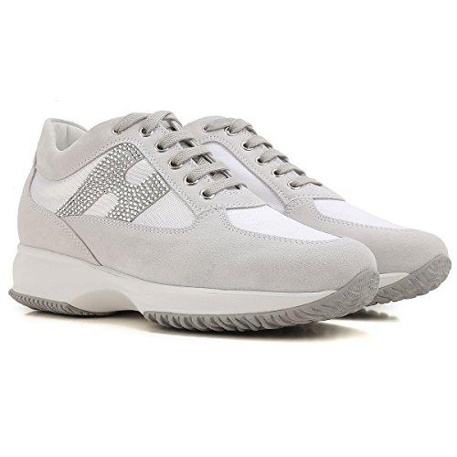 Strass Bianco Donna Hogan con Sneaker HXW00N02011FIKB001 Interactive qxYRRUZt