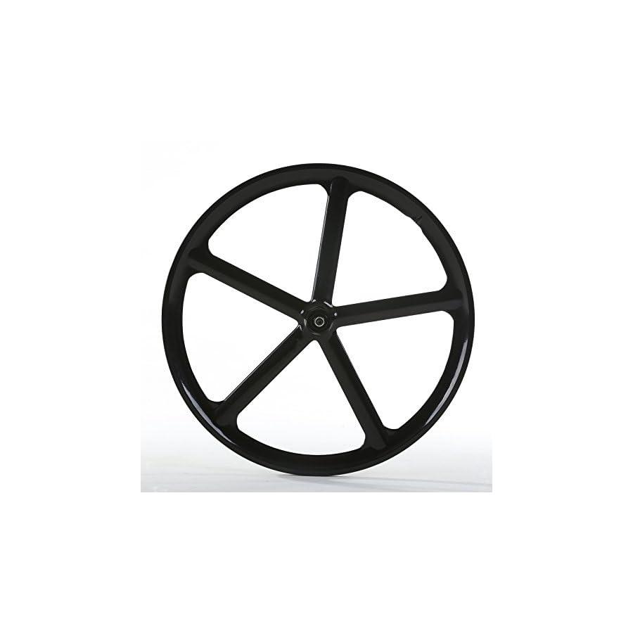 Solomone Cavalli SC Fixed Gear 700c Tri Spoke 5 Spoke Rim Front Rear Single Speed Fixie Bicycle Wheel Set