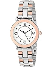 Women's Riley Japanese-Quartz Watch with Stainless-Steel Strap, Two Tone, 14 (Model: MJ3540)