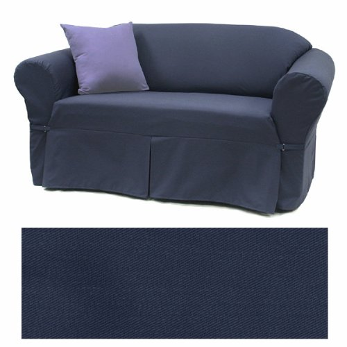 Amazon.com: Solid Navy Furniture Slipcover Sofa 408: Home & Kitchen