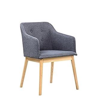 Esszimmerstühle modern mit armlehne  SalesFever® Armlehnstuhl Ando Anthrazit, Esszimmer-Stuhl mit ...
