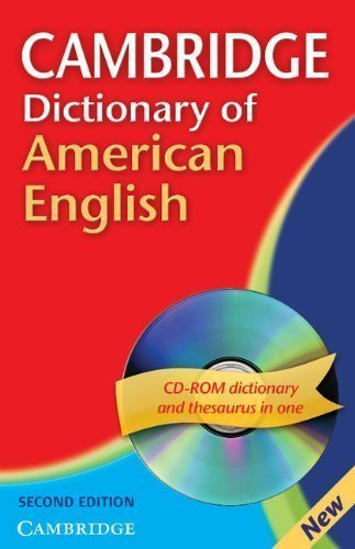 Cambridge Dictionary of American English Paperback with CD-ROM 2nd (second) Edition by Carol-June Cassidy [2007]