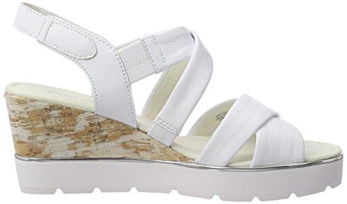 Sandalia para Pulsera Gabor Shoes Basic Blanco Weiss con Mujer UwO6PRxE