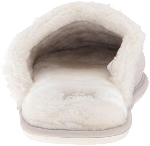 Reef Womens Confortable Pantoufle Gris Clair