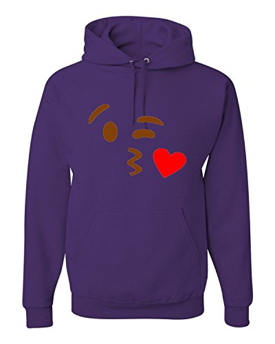 Go All Out Screenprinting XXXX-Large Purple Adult Kissy