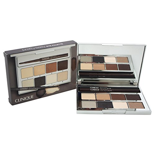 Clinique Women's Pretty Easy Eye Palette, French Vanilla, 01 Slimming Black/Skinny Stick/# 03 Slim Sable