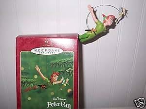 "Hallmark Keepsake Ornament Off to Neverland! ""Disney's Peter Pan"" (2000) QXD4004"