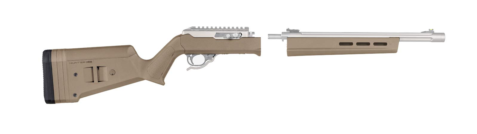 Magpul Hunter X-22 Takedown Stock for Ruger 10/22 Takedown, Flat Dark Earth by Magpul