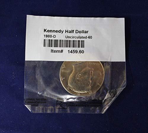 Genuine x4 UNCIRCULATED Half Dollars (CC2609)