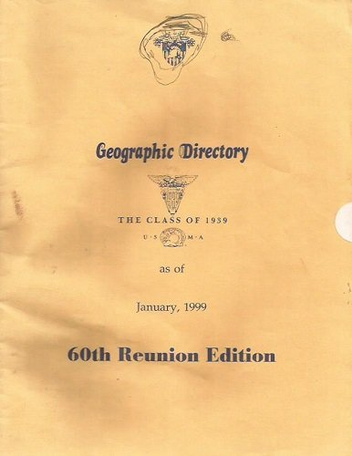 Geographic Directory: The Class of 1939 as of