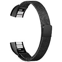 Cloverclover Roestvrij Stalen Horlogebandje Band Vervangen voor Fitbit Alta & Hr