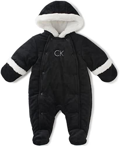 Calvin Klein Baby Boys' Pram With Snap Opening
