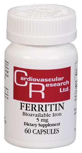 Cardiovascular Research - ferritine (fer biodisponible), 5 mg, 60 capsules